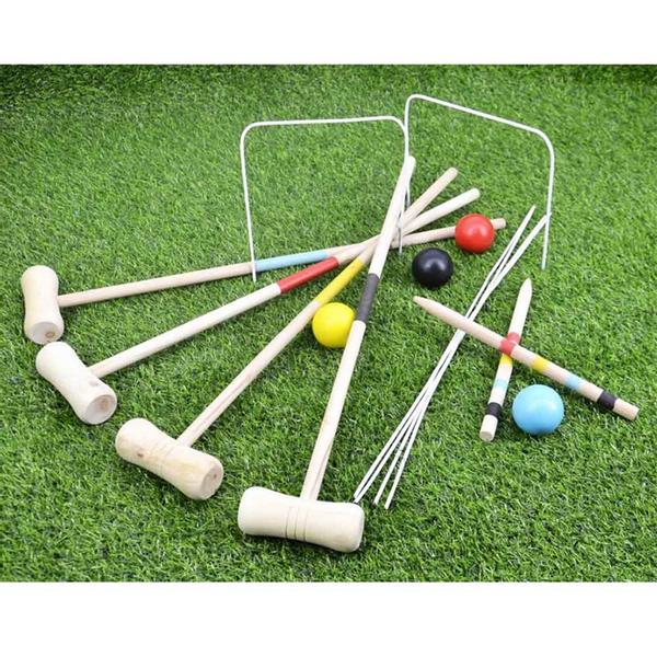 Croquet Sett For Barn 57cm Robetoy