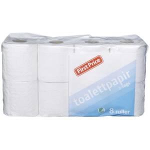 Bilde av Toalettpapir Økonomi First Price 8 Ruller