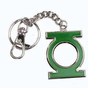 Bilde av Nøkkelring Green Lantern - Shaped Colour Logo