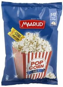 Bilde av Maarud Popcorn Poppet Salt 75g