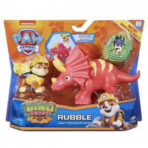 Bilde av Paw Patrol Dino Rescue RubbleAnd Triceratops