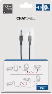 Bilde av BigBen Chat Cable For Playstation 4