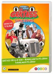 Bilde av Gråtass - Familieboks (3 Disc) (DVD)