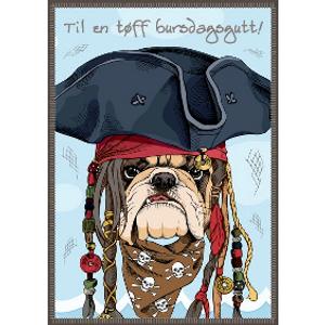 Bilde av Bursdagskort - Til En Tøff Bursdagsgutt