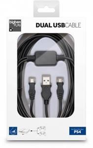 Bilde av BigBen Dual USB Cable For Playstation 4