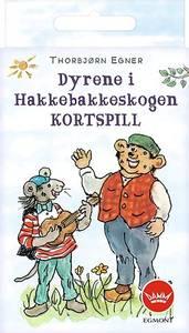 Bilde av Egmont Kortspill Dyrene I Hakkebakkeskogen -