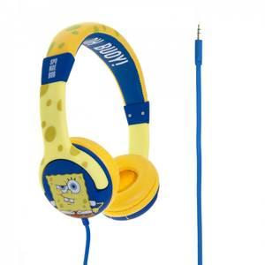 Bilde av Svampebob Hodetelefoner Junior On-Ear 85dB Gul