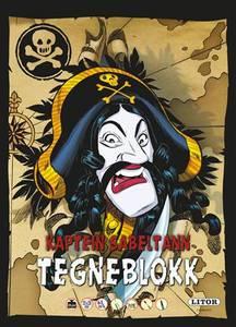 Bilde av Egmont Litor Tegneblokk Kaptein Sabeltann (64
