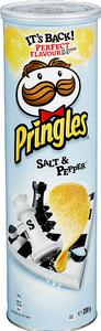 Bilde av Pringles Salt & Pepper 200g