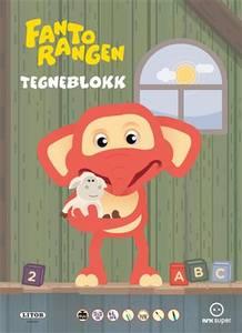 Bilde av Egmont Litor Tegneblokk Fantorangen (64 Ark)