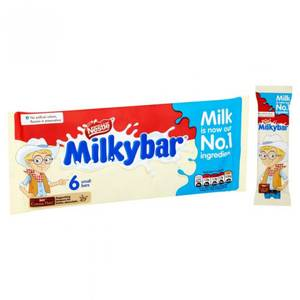 Bilde av Nestle Milkybar 6 pkn 72g