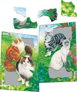 Bilde av Puslespill Katte Tema - 10 Brikker
