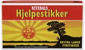 Bilde av Fyrstikker Ekstra Lange 45 stk Nitedals