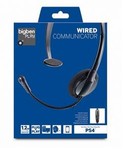 Bilde av BigBen Gaming Headset Wired Communicator For PS4