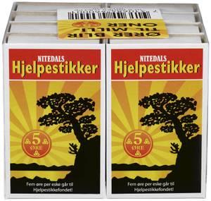 Bilde av Fyrstikker Brukseske 8 pk Nitedals