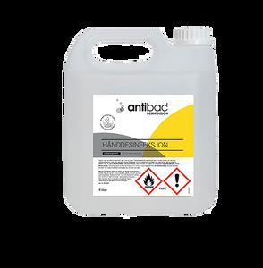 Bilde av Antibac Hånddesinfeksjon 85% 4 liter Kanne