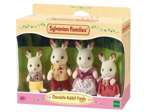 Bilde av Sylvanian Families Chocolate Rabbit Family 4pk