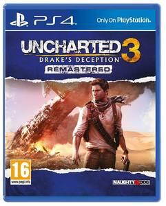 Bilde av Uncharted 3 - Drake`s Deception Remastered (PS4)