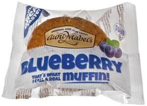 Bilde av Muffins Blueberry Aunt Mabels 100g