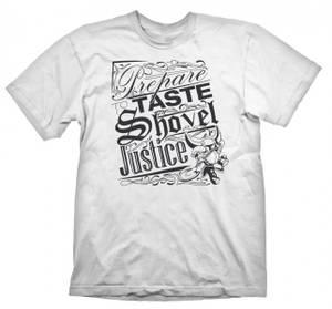 Bilde av T-Skjorte Shovel Knight - Justice White
