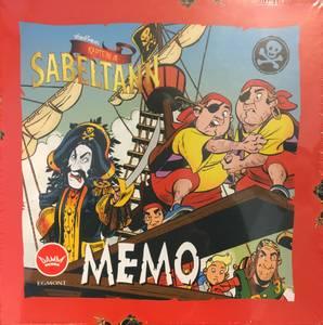 Bilde av Egmont Memo Kaptein Sabeltann - Norsk Utgave