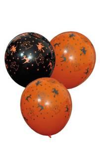 Bilde av Ballonger Halloween 6 Stk