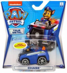 Bilde av Paw Patrol True Metal Kjøretøy - Chase (Hvite