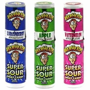 Bilde av Warheads Super Sour Spray Candy 20ml