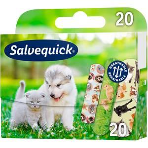 Bilde av Plaster Salvequick Animal Planet 20 stk
