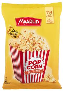 Bilde av Maarud Popcorn Poppet Salt & Smør 75g