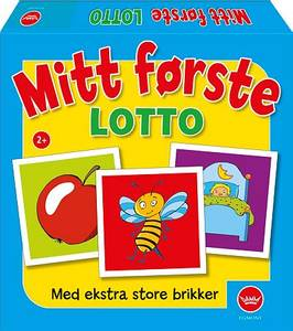 Bilde av Egmont Mitt Første Lotto - Norsk Utgave