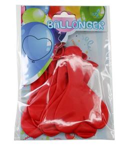 Bilde av Ballonger Hjerter Rød8 Stk