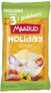 Bilde av Dipmix Holiday 3PK Maarud 66g