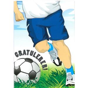 Bilde av Bursdagskort Mini Med Konvolutt - Fotball