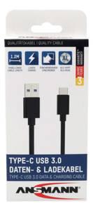 Bilde av Ansmann USB-C Data & Ladekabel
