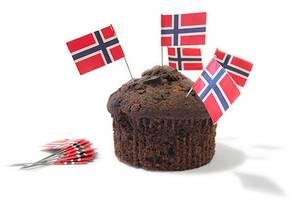 Bilde av Norske Flagg 12 stk Party 365