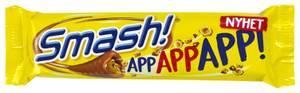 Bilde av Smash Bar! App App App 34g
