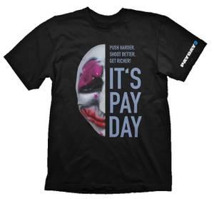 Bilde av T-Skjorte Payday 2 - Hoxton Mask
