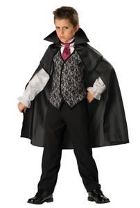 Bilde av Vampyr Kostyme Til Barn 7-8 År