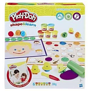 Bilde av Play-Doh Shape & Learn Bokstaver Og Språk