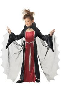 Bilde av Vampyr Kostyme Til Barn Jente 7-8 År