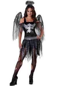 Bilde av Svart Engel Kostyme Til Ungdom