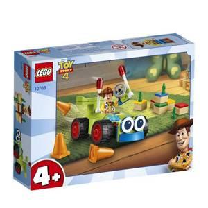 Bilde av Lego Toy Story 4 Woody Og Fjernstyrt Bil 10766