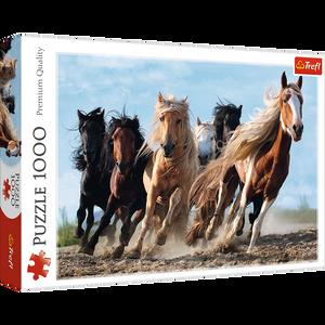 Bilde av Trefl Galloping Horses Puslespill (1000 Brikker)