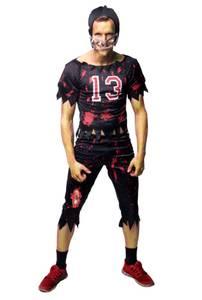 Bilde av Zombie Amerikansk Fotballspiller Kostyme Til