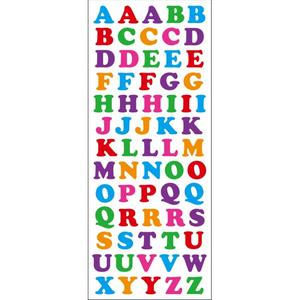 Bilde av Klistremerker Alfabetet Tinka - 66 Merker
