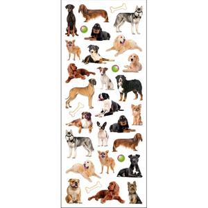 Bilde av  Klistremerker Hunder Med Glitter Tinka - 31