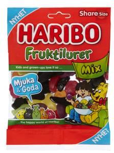 Bilde av Fruktilurer Mix Haribo 170g