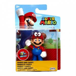 Bilde av Super Mario Figur - Mario With Cappy 7cm