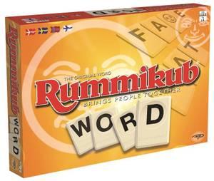Bilde av Rummikub Word - Nordisk Utgave